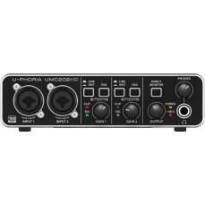 Behringer UMC202HD - interfejs audio/MIDI 2x2