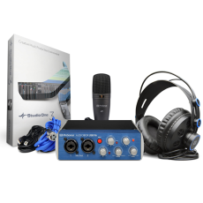 PreSonus AudioBox USB 96 Studio - Zestaw do nagrywania + PROGRAM DO ZAPISU NUT NOTION 6 GRATIS!